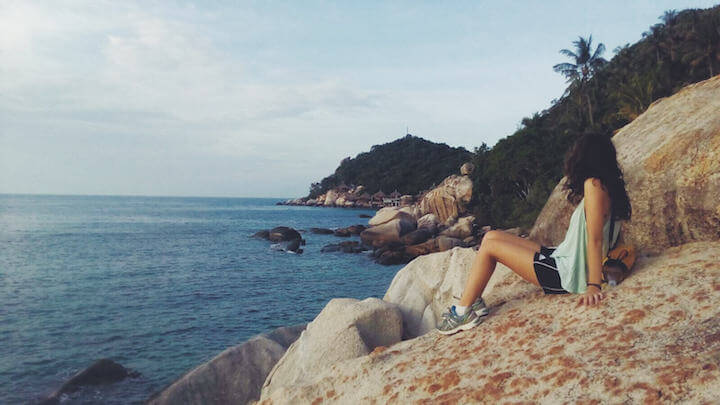 My new digital nomad life: Hiking to Sai Nuan in Koh Tao