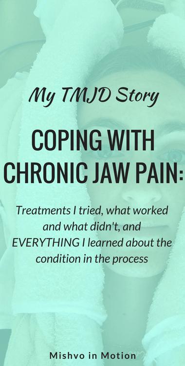 My TMJD Story | Mishvo in Motion
