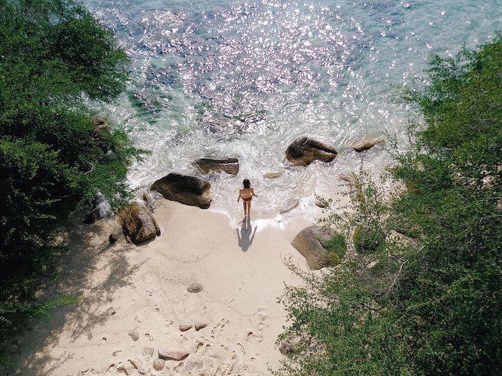 Laem Thian in Koh Tao
