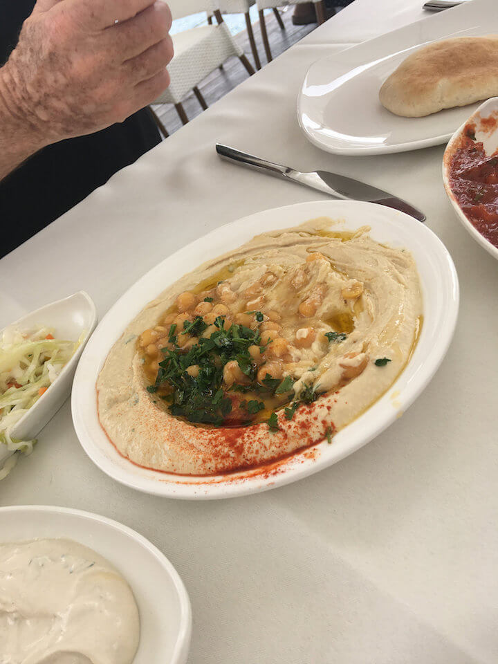 Hummus we ate in Israel