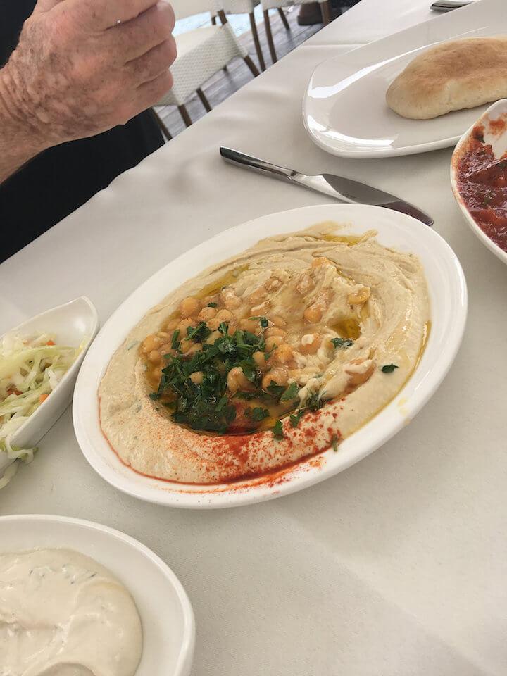 Hummus we ate in Israel