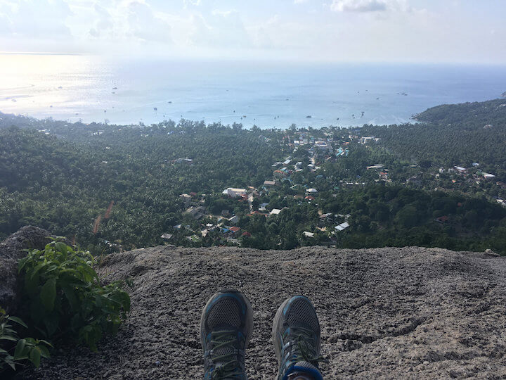 View from Fraggle Rock on Koh Tao