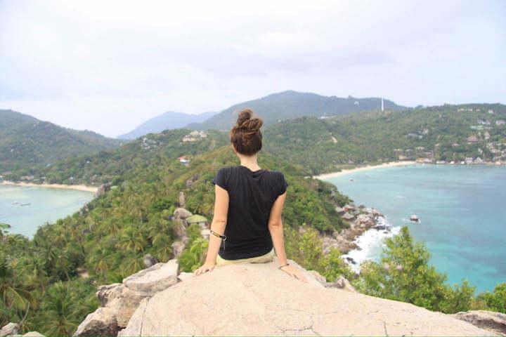 John-Suwan viewpoint in Koh Tao