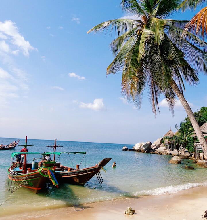 Sai Nuan beach in Koh Tao