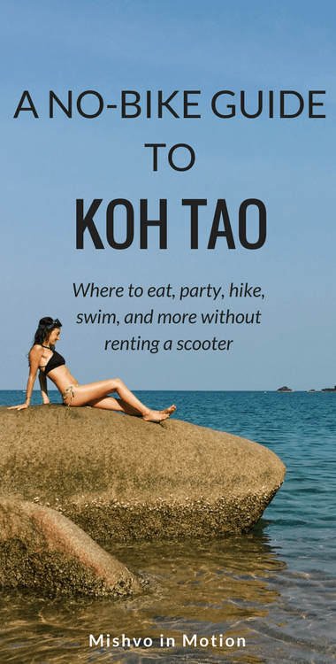 I LOVE living on Koh Tao. But yeah if you can't drive a motorcycle/scooter like me, you might be wondering what to do on the island in walking distance. Check out this super detailed guide I put together after living on the island for 3 months on where to stay, eat, snorkel, and more.