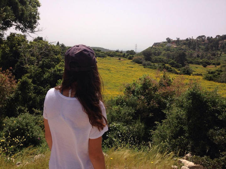 Mount Carmel hike Israel views