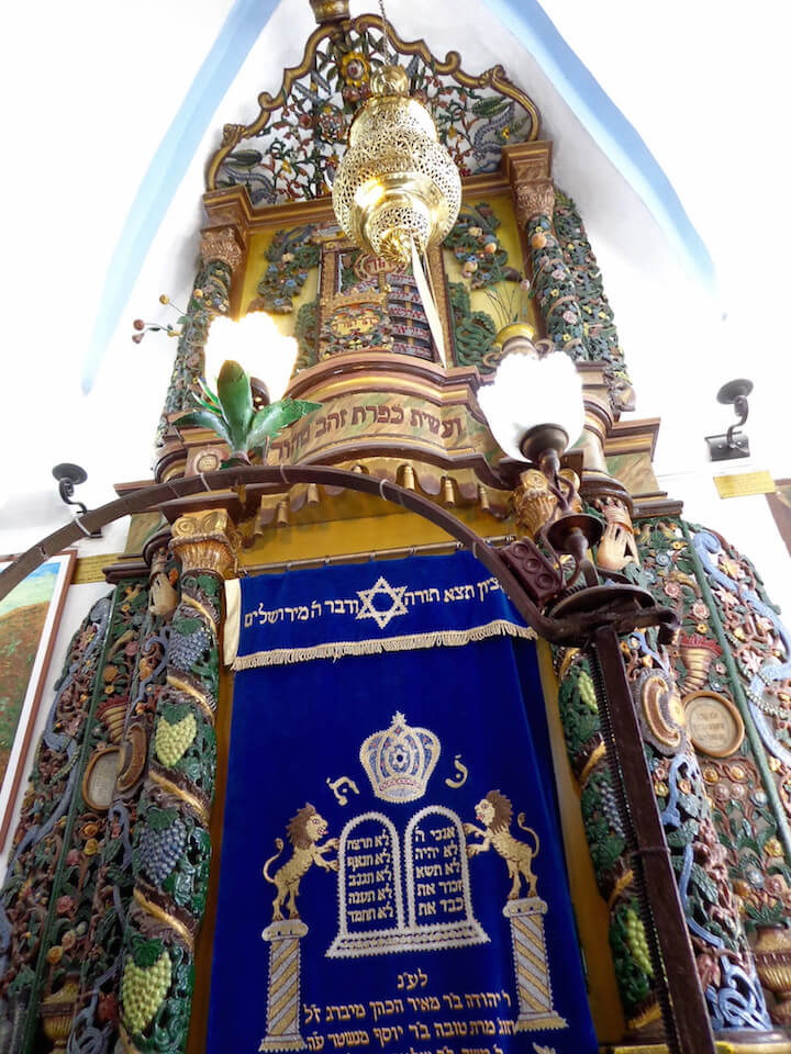 Synagogue in Tzfat, Israel
