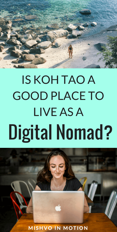 I have LOVED living on Koh Tao these past few months. But is it a good place for digital nomads like myself? I evaluated it on four categories based on living here for over 5 months. Click to see if Koh Tao is the right next destination for you and your online biz!