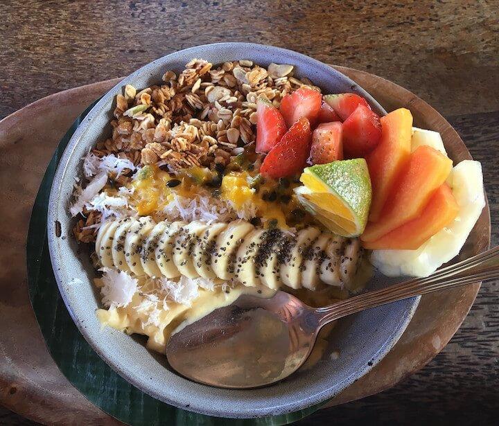 Betelnut Cafe smoothie bowl