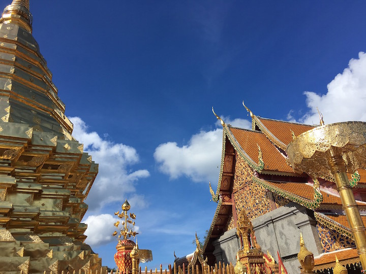Wat Phra Doi Suthep in Chiang Mai