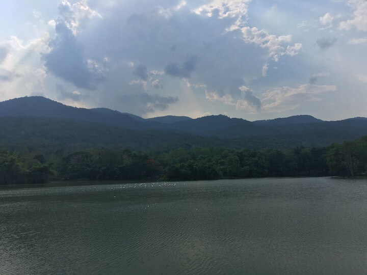 Ang-kaew-reservoir-chiang-mai