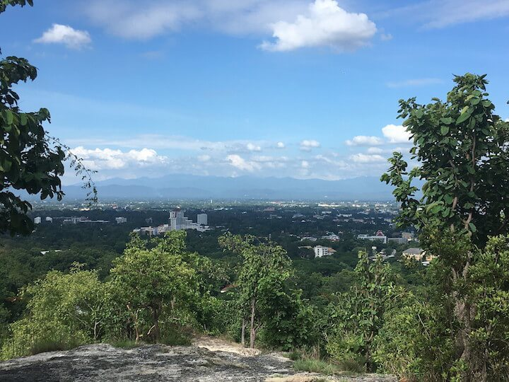 Viewpoint from Huay Kaew Park