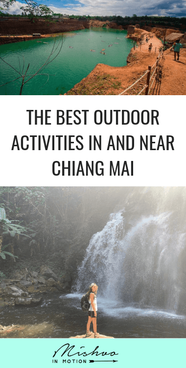 I've been living in Chiang Mai for a few months and these are my favorite spots to escape the city and enjoy some nature time.