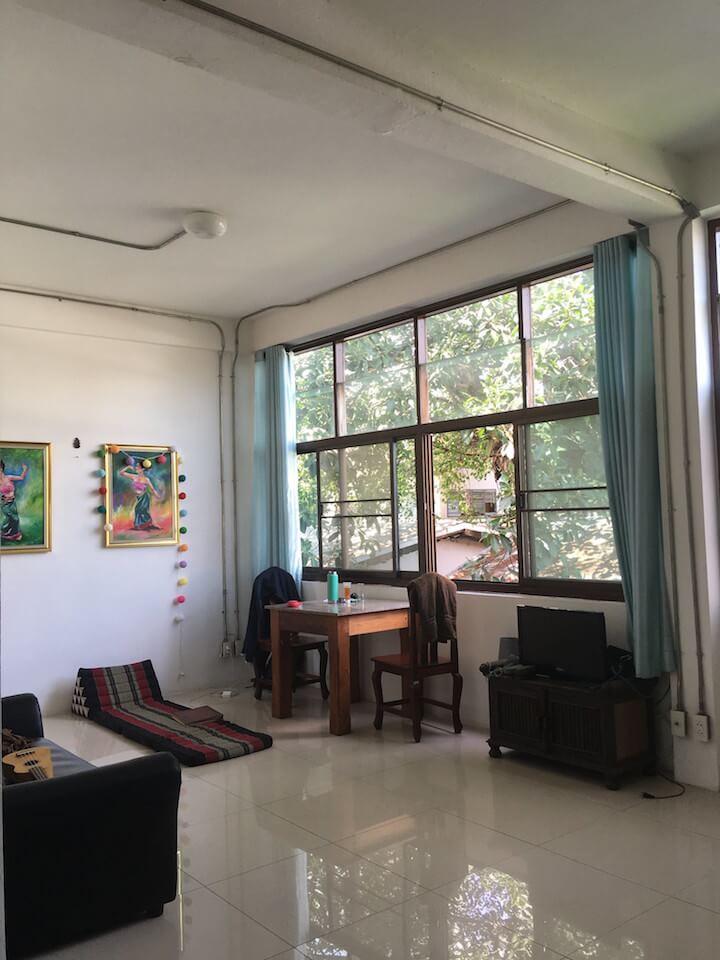 Chiang Mai sunlit apartment