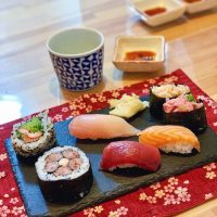 Tokyo best sushi making class review: the sushi we made