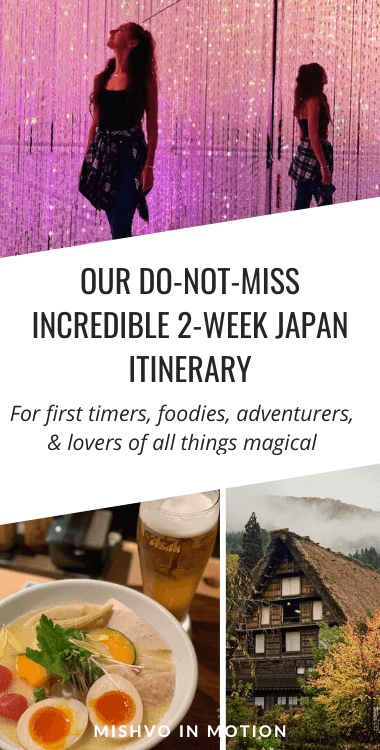 Our DO-NOT-MISS incredible 2-week Japan itinerary: for foodies, adventurers, and lovers of all things magic
