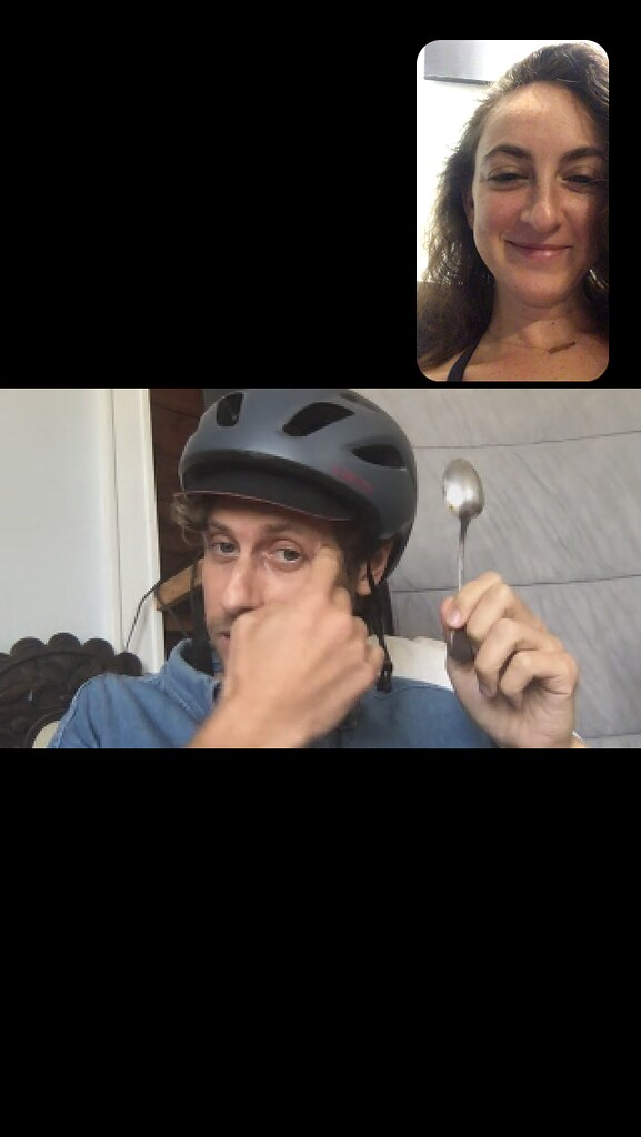 Videocall screenshot boy and girl