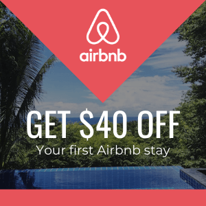 $40 off your first stay at Airbnb coupon