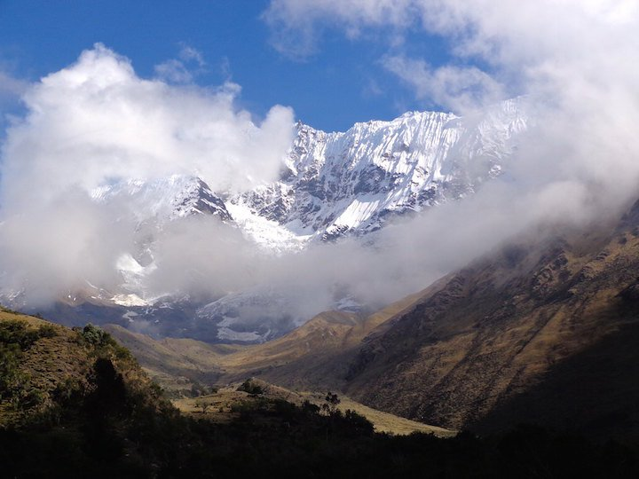 Salkantay mountain the Andes in Peru