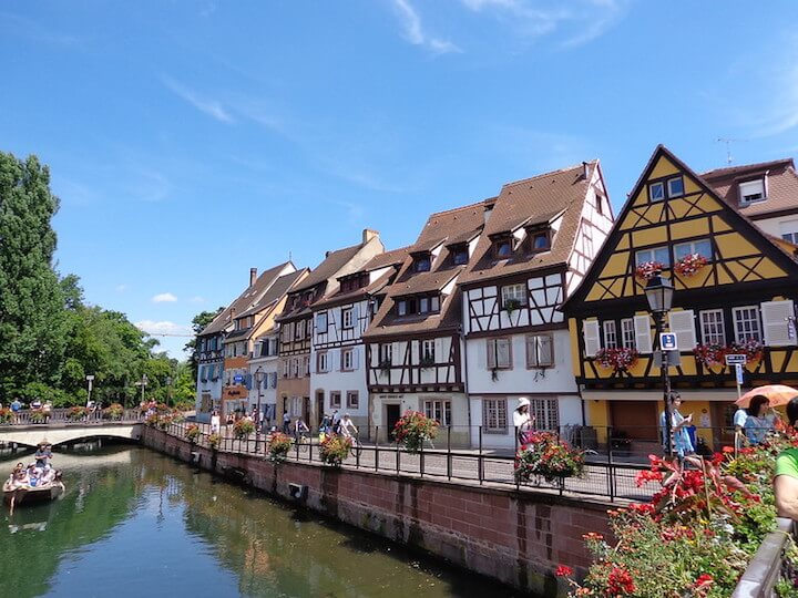 Future of travel: buildings in Alsace, France