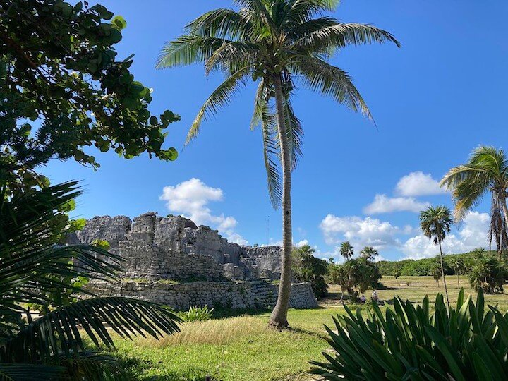 Ruins in Tulum, Mexico